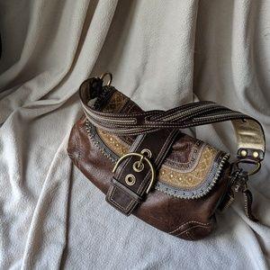 Handbags - Coach  Pebbled Leather Hobo